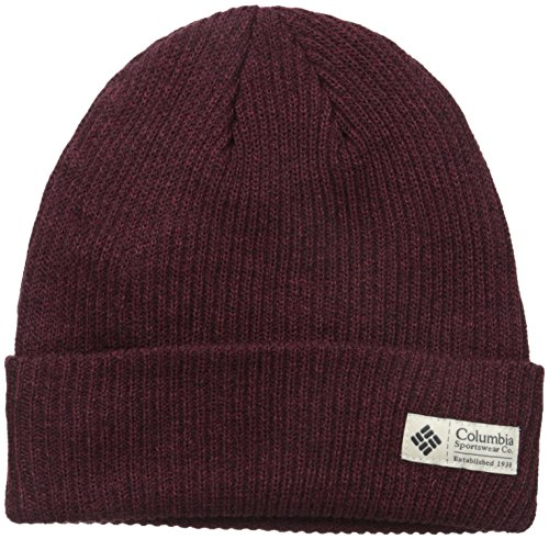 Columbia Men's Lost Lager Beanie, Deep Rust Heather, One Size