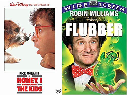 Walt Disney Pictures Honey, I Shrunk the Kids + Flubber DVD Family favorites Kids Fun