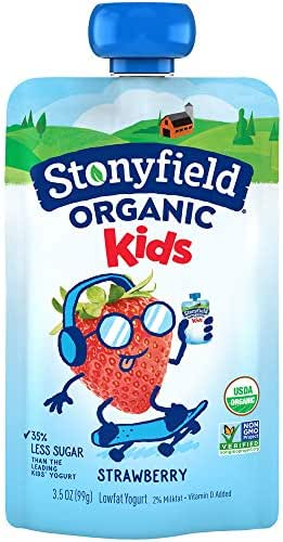 Stonyfield Organic Stonyfield Yotoddler Pouch, Strawberry, 3.7 oz
