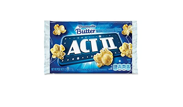 Amazon.com: Act II 23223 Microwave Popcorn 2.75oz. 36/BX ...