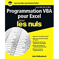 Programmation VBA pour Excel 2010, 2013 et 2016 pour les Nuls grand format
