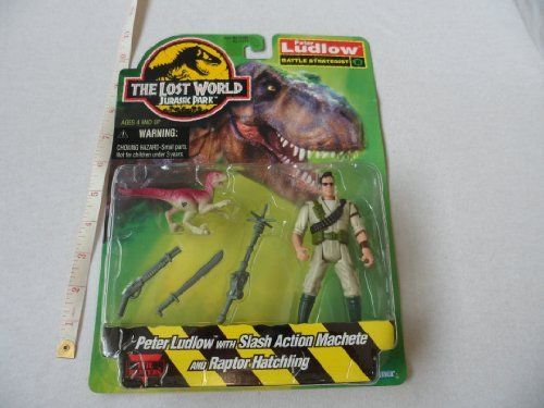 Jurassic Park the Lost World Peter Ludlow 1997 Kenner by Kenner