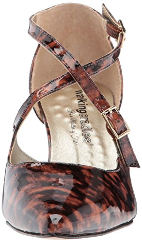Leather Women's Pump Cradles Patent Stella Walking Leopard 5YTq4xzxw