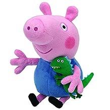 Ty Peppa Pig UK Exclusive Beanie Baby George