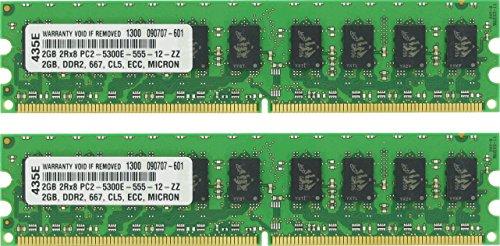 4GB (2X2GB) DDR2 MEMORY FOR Sun Microsystems Ultra 24