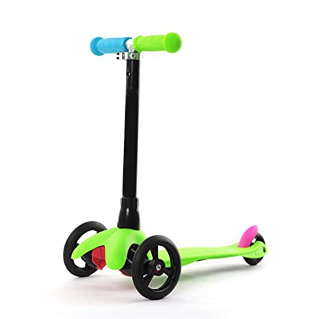 Nclon Patinetes Niños 3 Ruedas ,Scooter Luces leds Luminosas ...