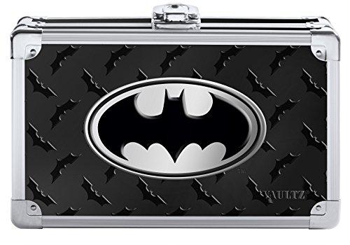 Vaultz Batman Pencil Box, 8.5 x 2.5 x 5.5 Inches, Black (VZ00877)