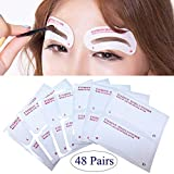 Best Eyebrow Stencils - 24 Styles Quick Makeup Eyebrow Stencils, EBANKU 48 Review