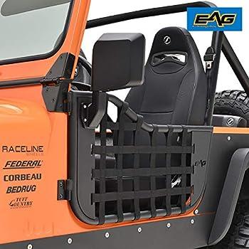 Bestop Half Doors Set of 2 Front New for Jeep CJ7 Scrambler 53028-01