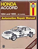 Haynes, Honda Accord, 1994-95, Haynes Publications Staff, 156392143X