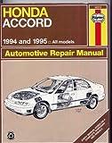 Haynes, Honda Accord, 1994-95, Haynes Publications Staff, 156392143X