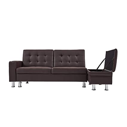 Awesome Click Mee 3 Seater Faux Leather Sofas Bed Sets With Ottoman Unemploymentrelief Wooden Chair Designs For Living Room Unemploymentrelieforg