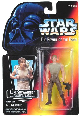 with Luke Skywalker Action Figures design