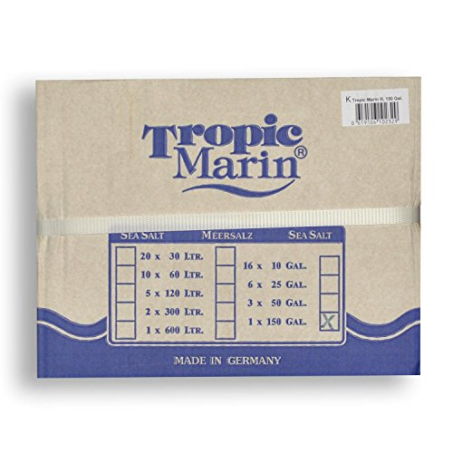 Quality Marine Products Tropic Marin Sea Salt, 43 (150 Gallon Mix)