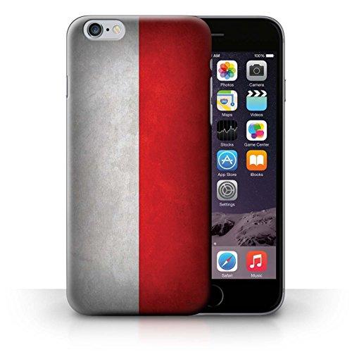Hülle Case für iPhone 6+/Plus 5.5 / Poland/Polnische Entwurf / Flagge Collection