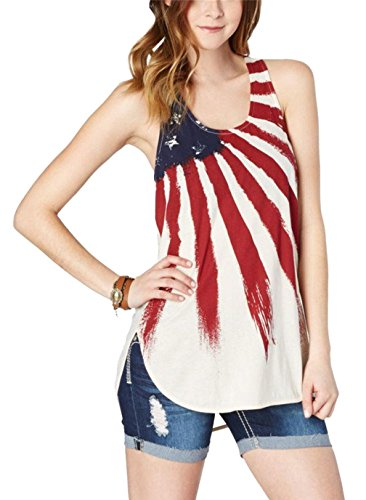 Womens-American-USA-Flag-Print-Stripe-Stars-Sleeveless-Tank-Top-Blouses-T-Shirt-D2K