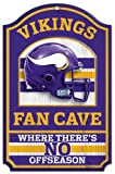 NFL Fan Cave Wood Signs