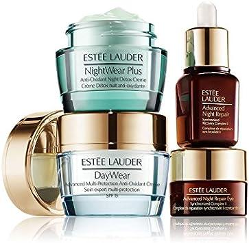 Estee Lauder Set de cuidado para la piel, ahora puedes permanecer joven, Soluciones para prevenir la edad: Amazon.es: Belleza