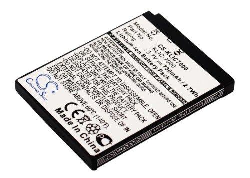 Upgrade | Cameron Sino Battery for Kodak EasyShare LS755,EasyShare LS755 Zoom,Slice Camera Battery Li-ion 730mAh