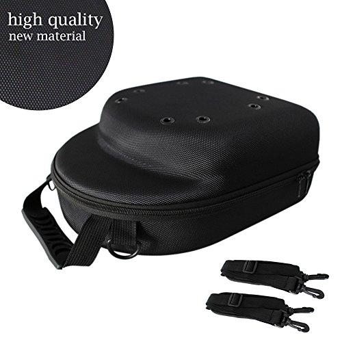 Baseball 6 Box Case - GALEXBIT Baseball Hat case Cap Carrier Case Holder for 6 Caps Hat Bag for Travel