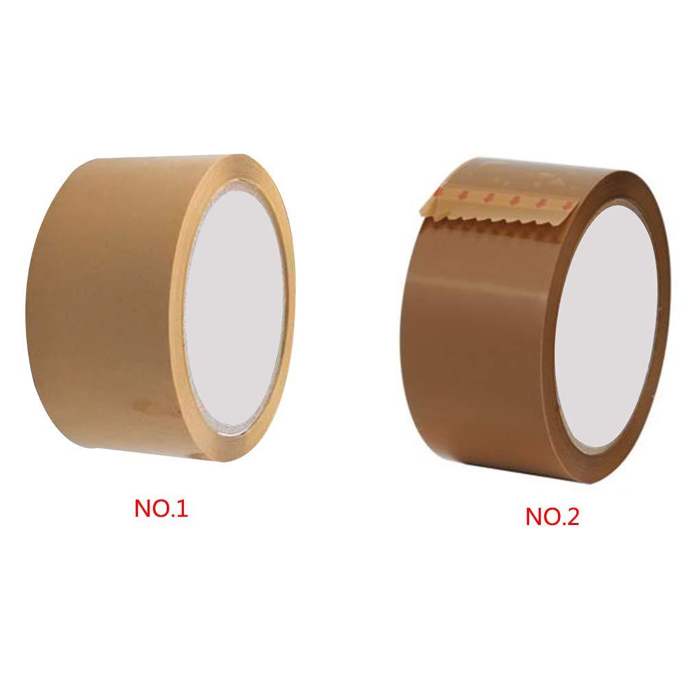 Colorful Parcel Box Adhesive Packing Packaging Shipping Carton Sealing Wide Tapes 48MM x 45 Meter Regard