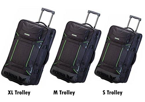 Erima London Trolley Sporttasche Tasche mit Rollen Reisetasche mit Zuggriff versch. Größen