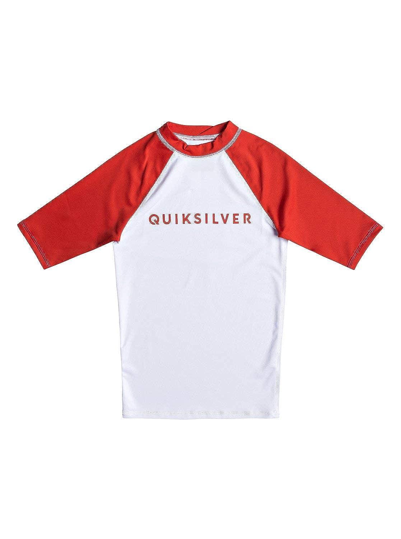 Short Sleeve UPF 50 Rash Vest for Boys 8-16 Quiksilver Always There