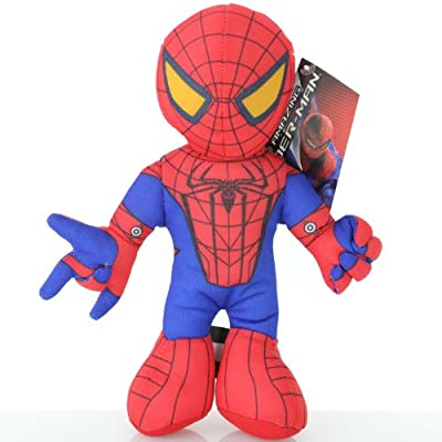 Spider-Man Spiderman 8 Inch Soft Plush Doll Toy - The Amazing: Toys & Games