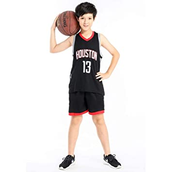 PAOFU-Camiseta de Baloncesto para Niños NBA Houston Rockets 13 ...