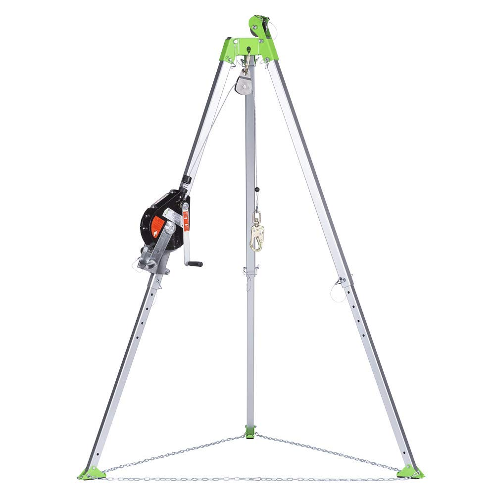 Man Winch and Bag 65 ft Tripod Peakworks Fall Protection V85025 Confined Space Kit