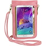 Yinuo Fashion Flower Design Crossbody Touch Screen PU Leather Cell Phone Case Pouch Bag for Samsung Galaxy Note...