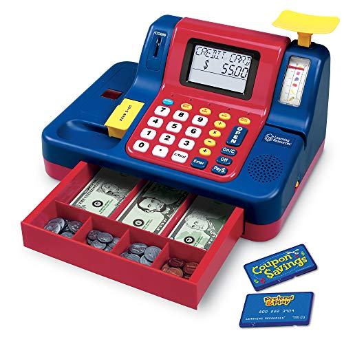 Learning Resources Pretend & Play Teaching Cash Register [Standard Packaging] from Learning Resources
