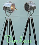 Vimhori Onlione Floor Lamp Home Decorative Vintage Design Tripod Lighting Searchlight Spot Light
