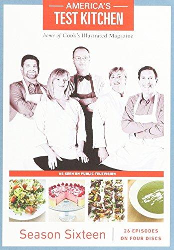 America's Test Kitchen Season 16 DVD