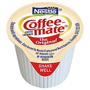 Nestle Coffee mate Coffee Creamer, Original, Liquid Creamer Singles, Non Dairy, No Refrigeration, Box of 180 Singles