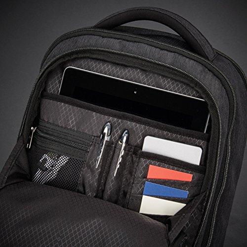518fZQmkuFL - Samsonite Modern Utility Mini Laptop Backpack, Charcoal Heather, One Size