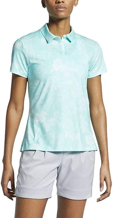 Nike W Nk DF UV Polo AOP Summer - Polo Mujer: Amazon.es ...