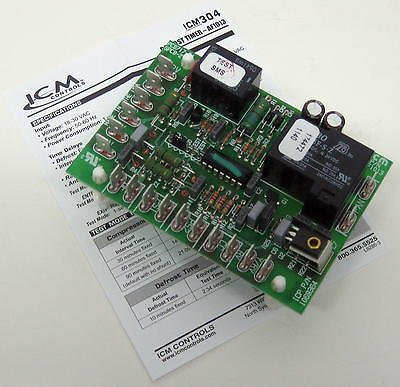 ICM Controls ICM304 Defrost Control, Replacement for ICP 1069364 (Icm Defrost Board)