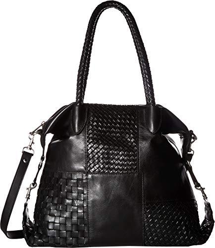 Satchel Slip Woven (Patricia Nash Women's Paloma Satchel Black One Size)