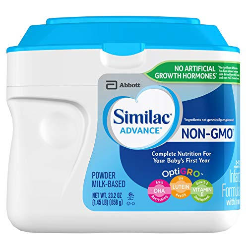 Similac Advance Non-GMO Infant Formula with Iron, Baby Formula, Powder, 23.2 Ounces (Pack of 6) by Similac