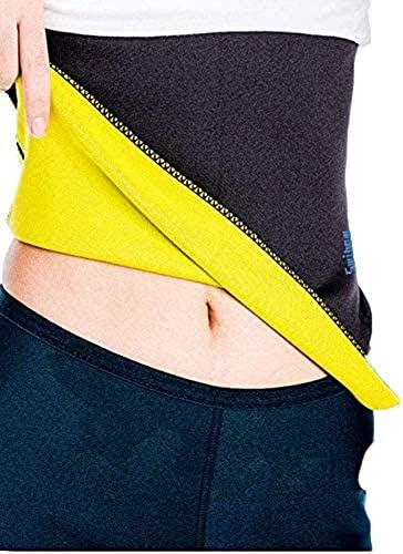 Waist Trainer Trimmer Belt for Weight Loss Neoprene Slimming Belt Sauna Fat Burner Sweat Corset Body Cincher for Women & Men 1