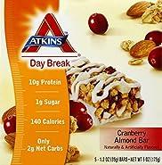 Atkins, Day Break Bar,crnbry Almd 5/1.2 Oz Ea 1
