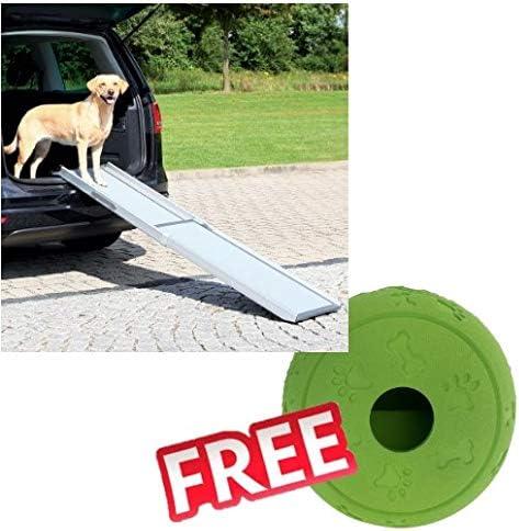 Rampa telescópica para perro Trixie para perros ansiosos, jóvenes, viejos, débiles o pequeños 100 – 180 x