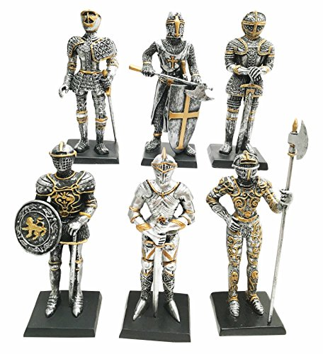 Miniature European Medieval Knights of Valor Suit of