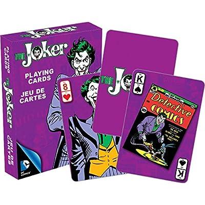 Aquarius DC Joker Retro Playing Cards: Aquarius: Toys & Games