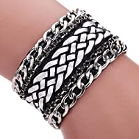 Welcomeuni Girls and Boys Braided Rope Magnetic Clasp Bracelets Wrist Chains...