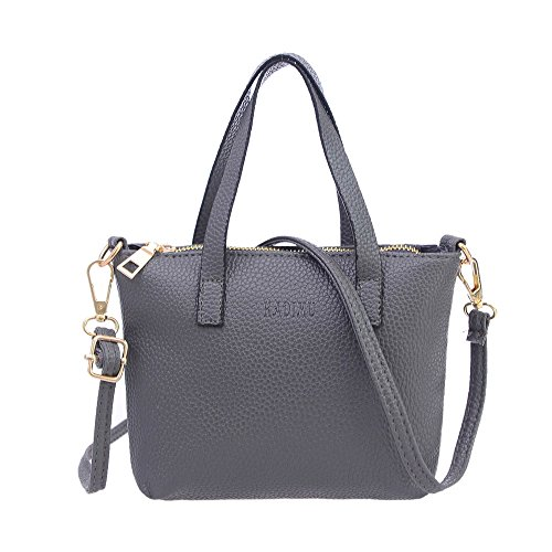 Cross Bag Vintage LovelyLeather Holder Gifts Body Ladies Handbag Bag Gray Girls Wallets Purses Shoulder Gray Bag Retro Women Sold Bag New Look BESTOPPEN Bag Messenger Fashion Handbag Color Casual Card w0xqITnS
