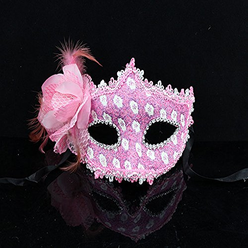 KAKA(TM) Mask Costume Cosplay Ball Dancing Party [Halloween] Princess Masks Facial Masquerade Glitter - Grace (Cygnet Costumes)
