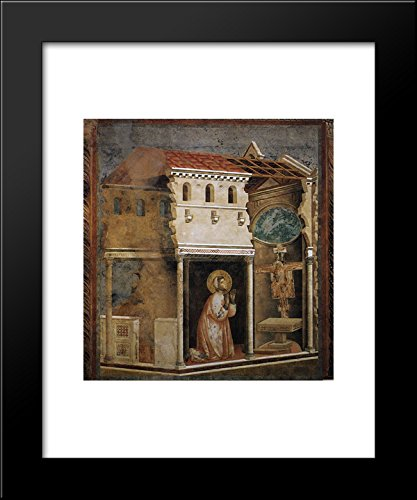 Miracle of the Crucifix 20x24 Framed Art Print by Giotto