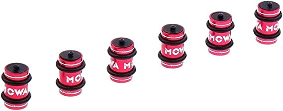 MOWA Road Mountain Bicycle Bike Cable Spacer Donuts for Frame Protect Red